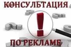 Консультации по рекламе 17 - kwork.ru
