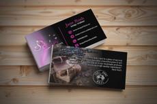 Стильный дизайн визитки 2 Варианта 42 - kwork.ru