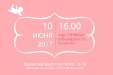 Видеоприглашение на свадьбу, день рождения, уличная реклама 16 - kwork.ru