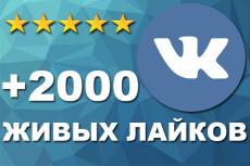 +300 соц. сигналов на страницу сайта. Живые люди ВК, ОК, FB, TW 18 - kwork.ru