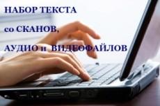 Расшифровка аудио- и видеофайлов 15 - kwork.ru