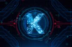 Сделаю 1 видео-визуализацию вашего логотипа или текста 22 - kwork.ru