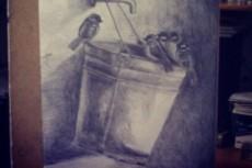 Нарисую иллюстрацию карандашом или тушью 36 - kwork.ru