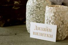 Нарисую для Вас два варианта визитки 24 - kwork.ru