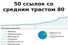 2000 ссылок с профилей от прогона Хрумером 4 - kwork.ru