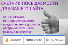Установлю Google Analytics на сайт 34 - kwork.ru