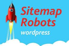 Robots и sitemap Wordpress 6 - kwork.ru