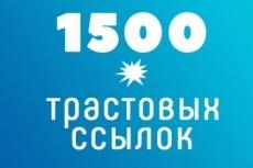 13 вечных трастовых русских ссылок. Ручная работа. Общий ТИЦ 70000 + 12 - kwork.ru