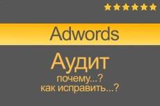 Аудит вашей рекламы в Яндекс Директ или Гугл Адвордс 6 - kwork.ru