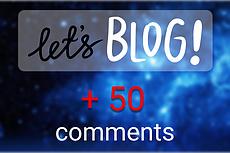 Оставлю на вашем сайте, блоге 50 осмысленных комментариев 14 - kwork.ru