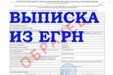 Срочная выписка ЕРГН на недвижимость 21 - kwork.ru