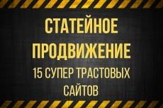 Размещение статей с ссылками на Ваш ресурс более чем на 800 площадках 13 - kwork.ru