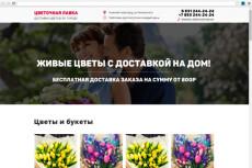 Сделаю макет сайта или лендинг пейдж 18 - kwork.ru