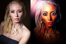 Сделаю портрет по фото для печати на холсте. Предлагаю сотрудничество 13 - kwork.ru