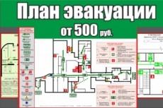 Нарисую карту территории, схему проезда 29 - kwork.ru