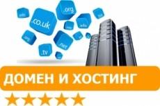Регистрация домена .ru+2 месяца хостинга+SSL сертификат+установка CMS 17 - kwork.ru