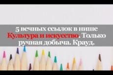 13 ВЕЧНЫХ ссылок с ТОПфорумов страны. Ручная работа 20 - kwork.ru