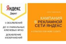 Настройка Яндекс Директ- 1 кампания на поиск и 2 РСЯ кампании 20 - kwork.ru