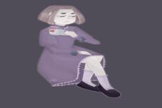 Нарисую Ваш портрет или персонажа в аниме стиле 11 - kwork.ru