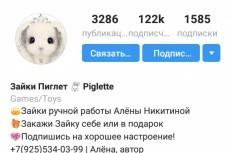 Аудит аккаунта в инстаграм 10 - kwork.ru