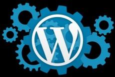 Wordpress установка, настройка, правки 29 - kwork.ru