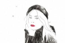 Портреты, скетчи 24 - kwork.ru