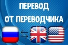 Сделаю литературный перевод текста с английского на русский 21 - kwork.ru