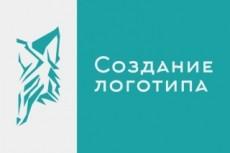 Разработка логотипа 30 - kwork.ru