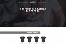Дизайн страницы сайта в PSD 57 - kwork.ru
