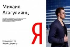 Настройка рекламной кампании в Яндекс Директ на Москву и отдельно на Россию 5 - kwork.ru