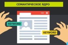 Ручной подбор семантического ядра YouTube канала 12 - kwork.ru