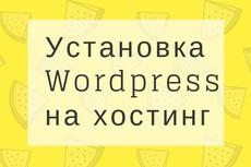 Установлю собственную сборку WordPress 15 - kwork.ru