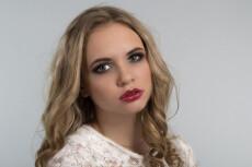 Профессиональная ретушь лица 23 - kwork.ru