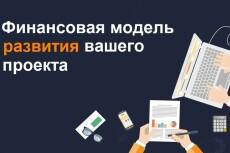 Разработка бизнес плана, инвестиционного проекта, графики, отчетность 7 - kwork.ru