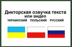 Озвучу текст 23 - kwork.ru