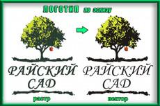 Отрисовка логотипа, в т. ч. по Вашему эскизу. Вектор 18 - kwork.ru