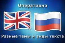 Профессионально переведу текст с английского на русский и обратно 23 - kwork.ru