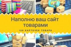 Наполнение контентом 24 - kwork.ru