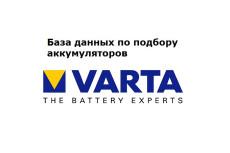 База подбора запчастей для ТО по марке авто 3 - kwork.ru