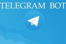 Создам отличного бота для Telegram 20 - kwork.ru