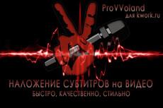 Сопоставлю(наложу) звук с видеозаписью по Вашим указаниям 19 - kwork.ru
