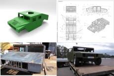 Создам 3D модель по чертежу + визуализацию 13 - kwork.ru