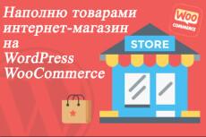 Наполнение сайта товарами на WordPress 6 - kwork.ru