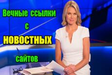 Вечная ссылка на трастовом новостном ресурсе с ИКС 1700 5 - kwork.ru