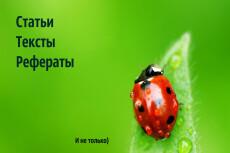 Копирайт и рерайт текста 4 - kwork.ru