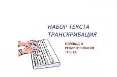 Транскрибация, перевод аудио или видеозаписи в текст 23 - kwork.ru