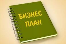 Предоставлю бизнес-план студии веб-дизайна 23 - kwork.ru