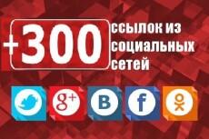 100 ссылок на Ваш сайт со страниц Твиттера 4 - kwork.ru