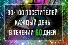 Качественный трафик. 5000 посетителей из Москвы и области 47 - kwork.ru