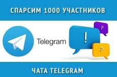 База чатов Telegram, криптовалюта 3 - kwork.ru